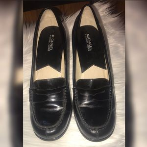Women's high Heel Loafers Size 9M